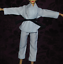 Karate-tenue-pour-1-6-scale-12-034-FEMALE-Figurine-HOT-TOYS-CY-CG-GIRL-BBI miniature 4