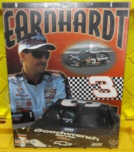 DALE-EARNHARDT-MATTED-POSTER-WOODEN-PLAQUE-16-x-20-READY-TO-HANG