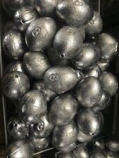 Lot of 18 12 OZ  Egg Slip sinkers Fishing weights