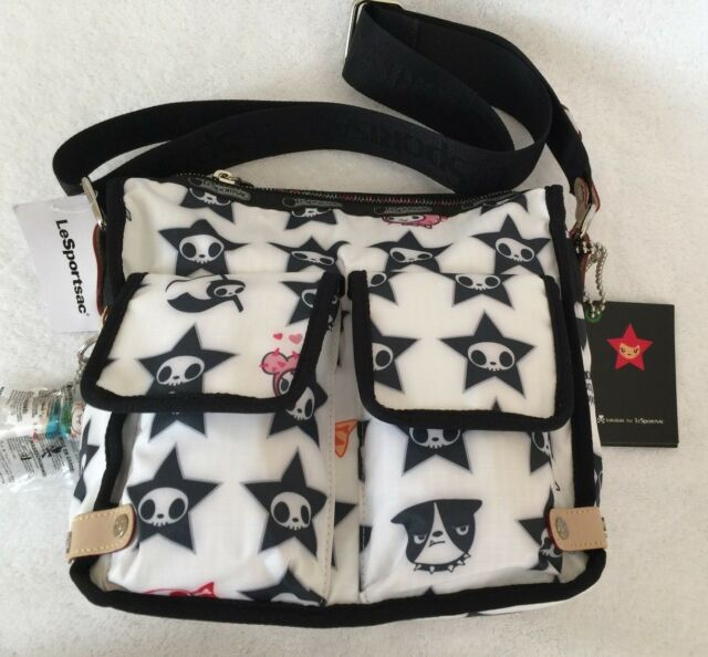 Lesportsac Tokidoki New With Tags Crossbody Messenger Bag Stellina Adios Star