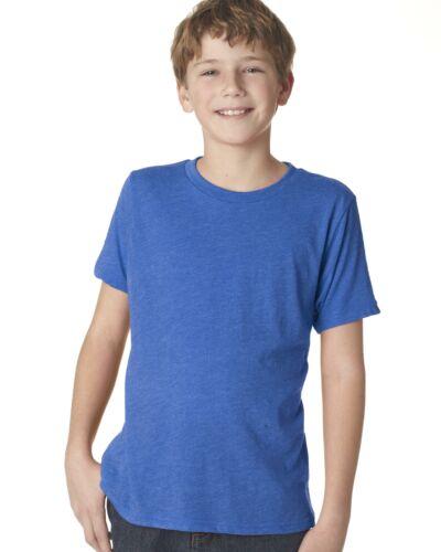 Next Level Apparel Boys Tri-Blend  Short-Sleeve Crewneck T-Shirt