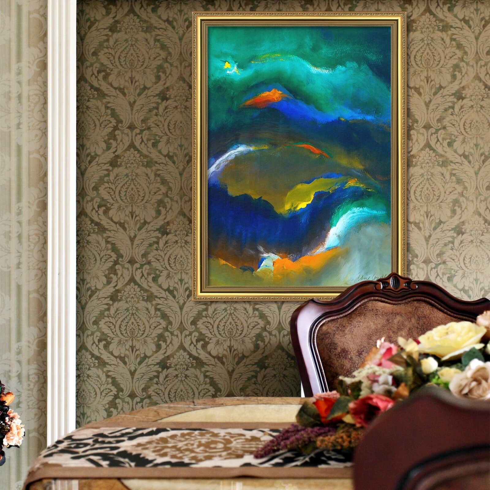 3D Abstract Pattern 6 Framed Poster Home Decor Print Painting Art AJ AU