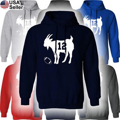 "Tom Brady New England Patriots /""GOAT/"" jersey T-shirt  S-5XL"