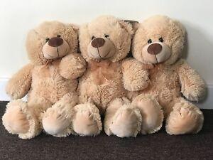 NEW Plush Super Soft Large Teddy Bear - Big 50cm Cuddly Toy - Traditional Gift 5015934471067