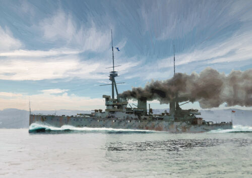 HMS INFLEXIBLE LIMITED EDITION ART 25