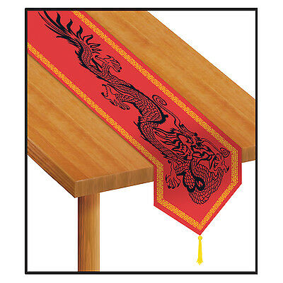 Printed Chinese Table Runner - 1.8 m Long - Chinese New Years Party Decorations