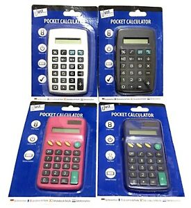 Pocket-Size-Calculator-Handy-Size-8-Digit-Display-For-School-Office-and-Home