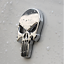 3D-Metal-Punisher-Emblem-Sticker-Skeleton-Skull-Decal-Badge-Car-amp-Truck-SILVER miniature 4