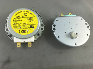 Image Is Loading Lg Microwave Oven Turntable Motor Gm 16 2f302