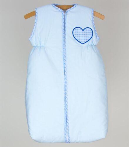 Baby Reise Schlafsack Kurzarm 6-18 Monate mit Reißverschluss
