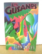 Los Gusanos by John Sayles 1991 *Signed Advance Reading Copy*