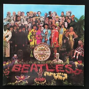 THE BEATLES Sgt. Peppers Lonely Hearts Club Band PARLOPHONE PCS 7027 VINYL LP NM