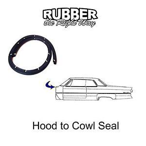 1977 1978 1979 ford thunderbird hood to cowl seal