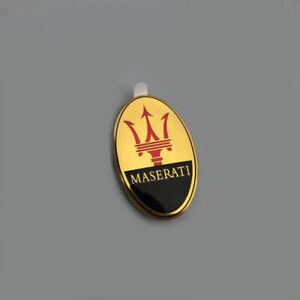 1x-Auto-Fronthaube-Emblem-Aufkleber-Abziehbild-Logo-fuer-Maserati-Ghibli-GT