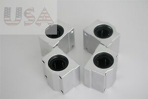 4pcs SCS25UU 25mm for CNC Linear Ball Motion Bearing Slide