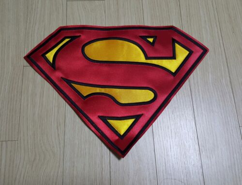 "Superman Huge High Quality Embroidered Patch 13.1/""x9.6/"""
