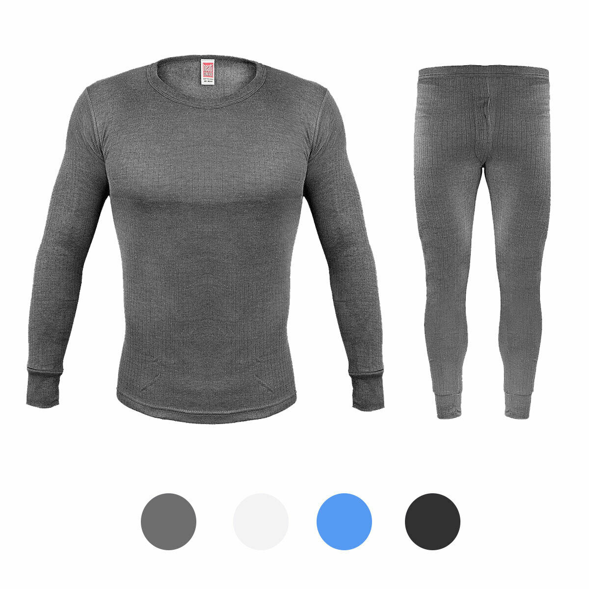 Da Uomo Thick Brushed Warm Leggings Long Johns layer di base TOG 0.45