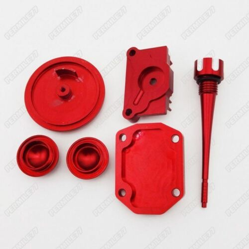 Red Engine Dress Up Kit Tappet Cover Chinese 110cc 125cc ATV Quad Dirt Pit Bike