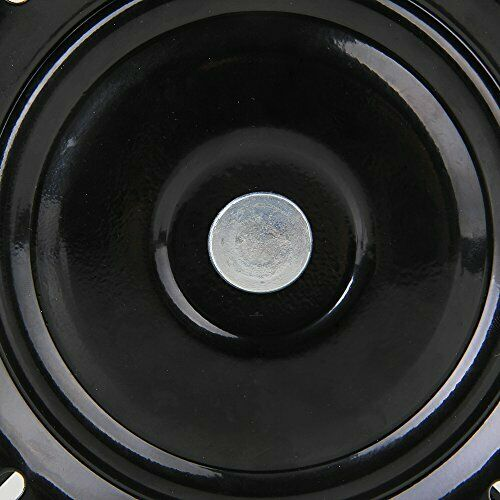 BQLZR 6 inch A3 Steel Plate Black Ball Bearing Square Swivel Turntable Chair for