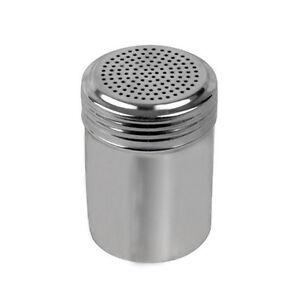 10 Oz Stainless Steel Salt Pepper Shaker Spice Jar Th Ebay