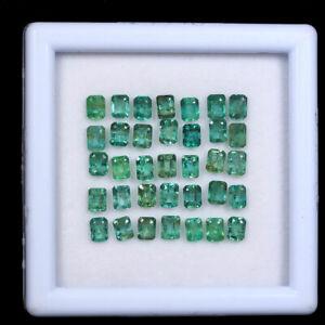 35-Pcs-Colombian-Emerald-Natural-3-7mm-4-3mm-Octagon-Cut-Gemstones-Wholesale-Lot
