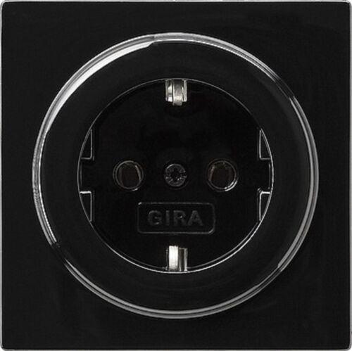 Gira 018847 Prise de courant Schuko S color noir
