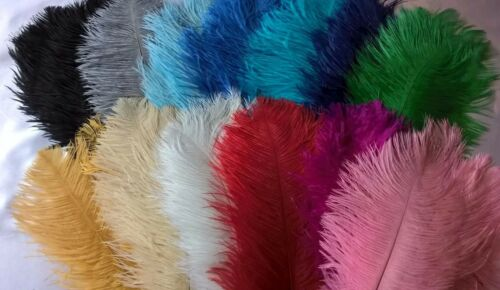 Ostrich Feathers 12-14 inch// 30-35 cms UK SELLER