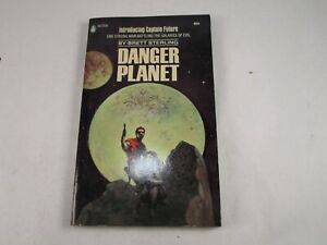 """Vintage """"Danger Planet"""" by Brett Sterling 1945 First Edition Better Publications"""