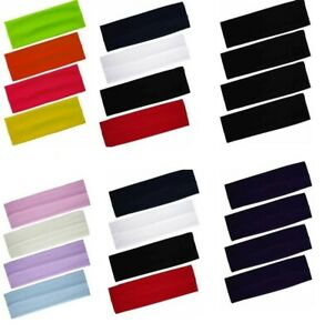 STRETCHY-KYLIE-BAND-HAIRBAND-HEADBAND-LADIES-MENS-SPORTS-ASSORTED-COLORS