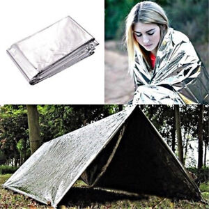 Outdoor-Emergency-Tent-Blanket-Sleeping-Bag-Survival-Reflective-Shelter-Camping