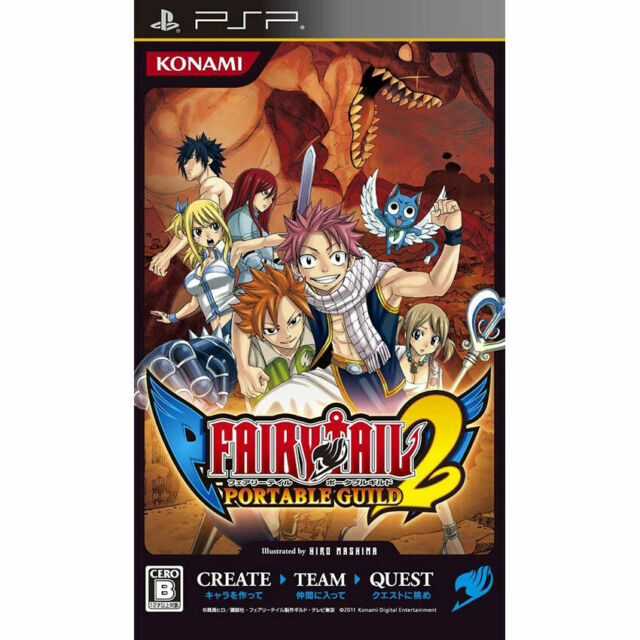 Fairy Tail: portable Guild 2 Sony Playstation Portable PSP NTSC-J jap anime game