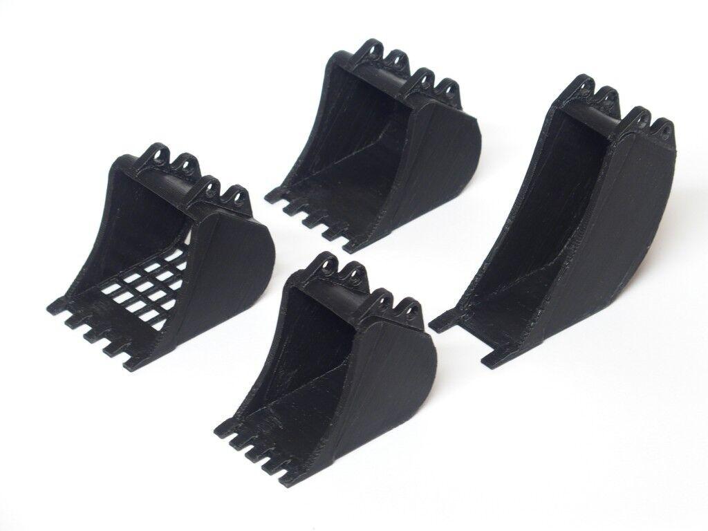 Excavator Bucket Set for Lego Technic  8043 42006 8294 42053 Baggerschaufel-Set