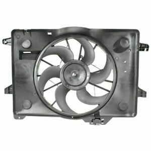 FO3115121 OE Style Radiator Cooling Fan Shroud Assembly Replacement for Ford Crown Victoria Lincoln Town Car 00-02