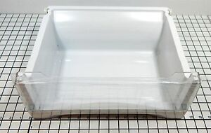 NEW OEM GE Refrigerator Vegetable pan assembly, WR32X10912