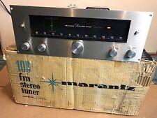 Marantz 10B FM Stereo Tube Tuner Excellent with Original Box & Amperex Tube