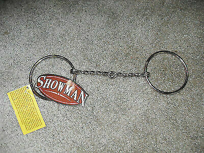 """Showman 5/"""" Chrome Plated O-Ring Snaffle Bit Horse Tack Equine"""