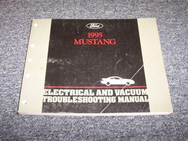 1995 Ford Mustang Electrical Wiring  U0026 Vacuum Diagram