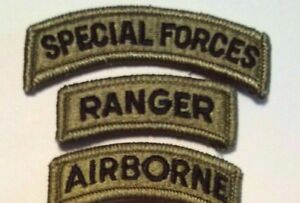 Special forces tab ranger tab airborne tab ocp wfastener ebay image is loading special forces tab ranger tab airborne tab ocp fandeluxe Image collections