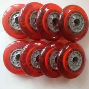 100 rot100mm zu INLINER SCOOTER Details MITLEDin 82A KICKBOARD ROLLEN bf7gyvIY6