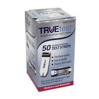 TRUEtest Blood Glucose Test Strips (Box of 50)