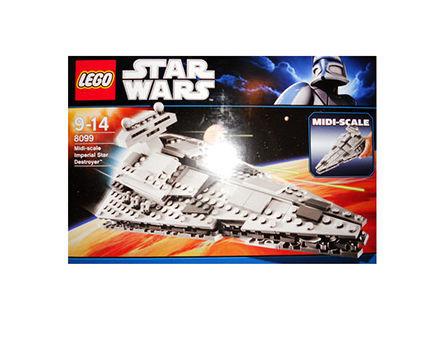 Lego 8099 Star Wars Midi-Scale Imperial Star Destroyer