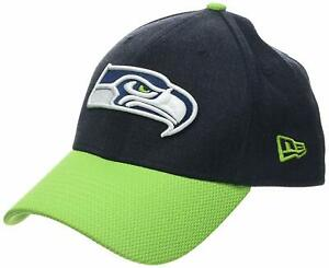 reputable site 15f05 5b1d4 Image is loading New-Era-39thirty-numerated-NFL-Seattle-Seahawks-FOOTBALL-