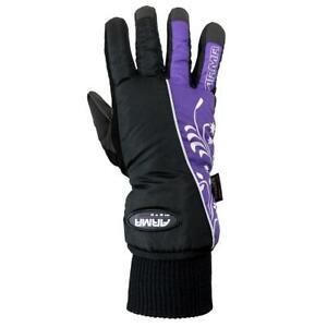 Armr-LWP225-Damen-Motorradhandschuhe-Winter-Motorrad-Handschuhe-Wasserdicht-Lila