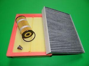 Olfilter-Luftfilter-Aktivkohle-Pollenfilter-Renault-Trafic-3-1-6-dCi-66-107kW