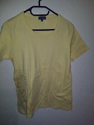 Diszipliniert Damen T-shirt Gelb Gr.42/44