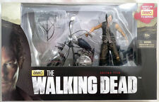 NEW Walking Dead Daryl Dixon Figure & Motorcycle Deluxe Box set