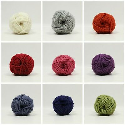 911 FOREST DY CHOICE CHUNKY Knitting Yarn 100g With Wool
