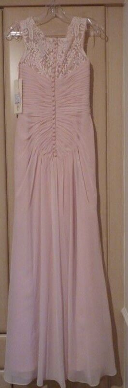 Ronald Joyce 29106 Primpink Pink bridesmaids  prom dress new tags size 8  rr