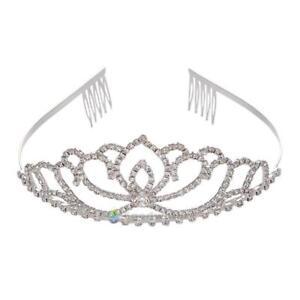 Princess-Wedding-Tiara-Bridal-Prom-Party-Crystal-Flower-Hair-Crown-Band-Headband