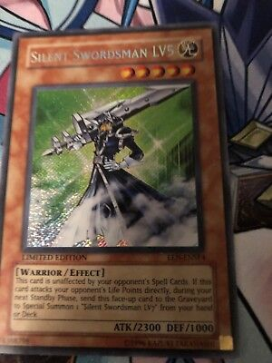 Silent Swordsman Lv5 Secret Rare Limited Edition